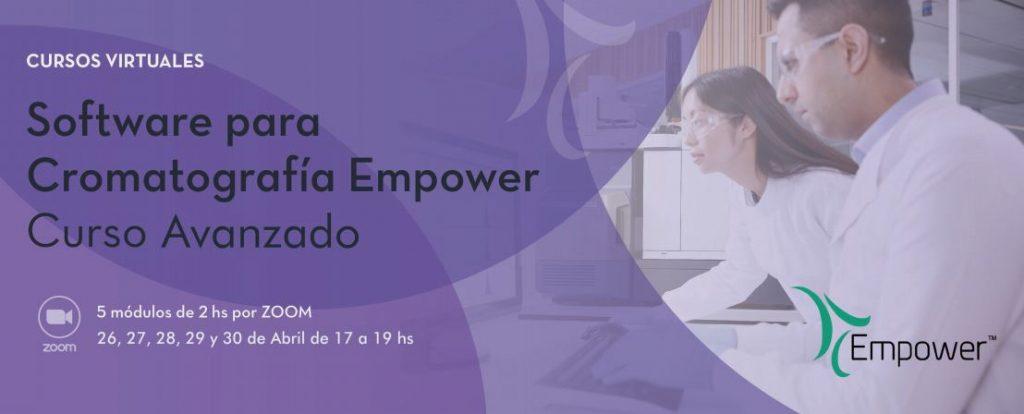 Software para Cromatografía Empower – Curso avanzado