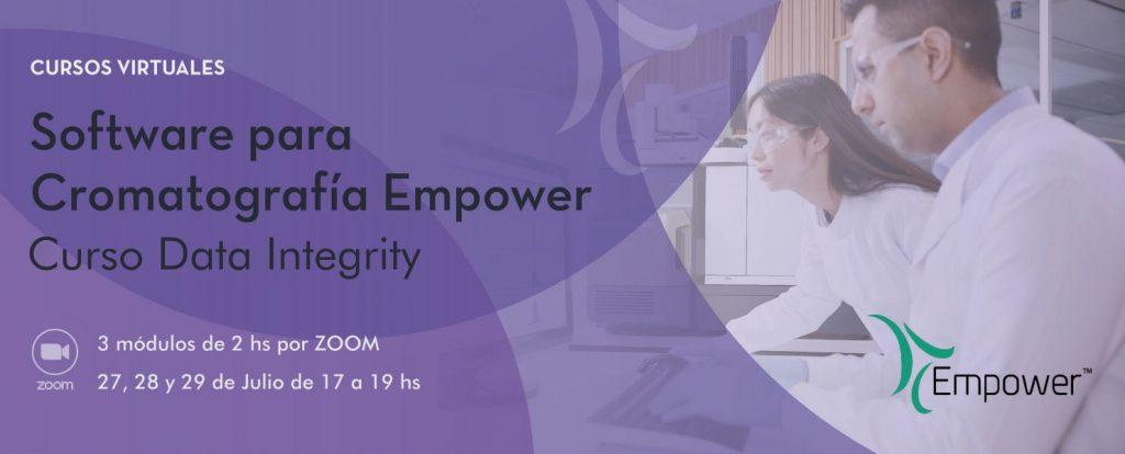 CURSO EMPOWER – DATA INTEGRITY Curso Empower – Data Integrity