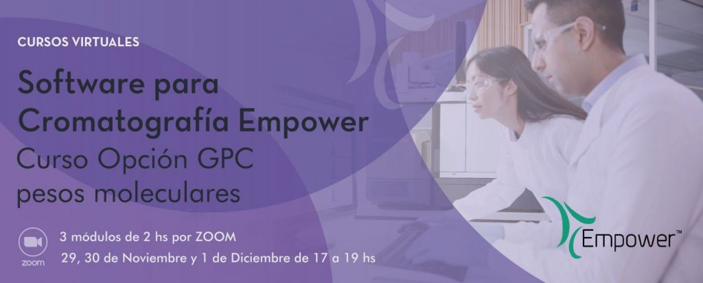 Curso Empower – Opción GPC (pesos moleculares)