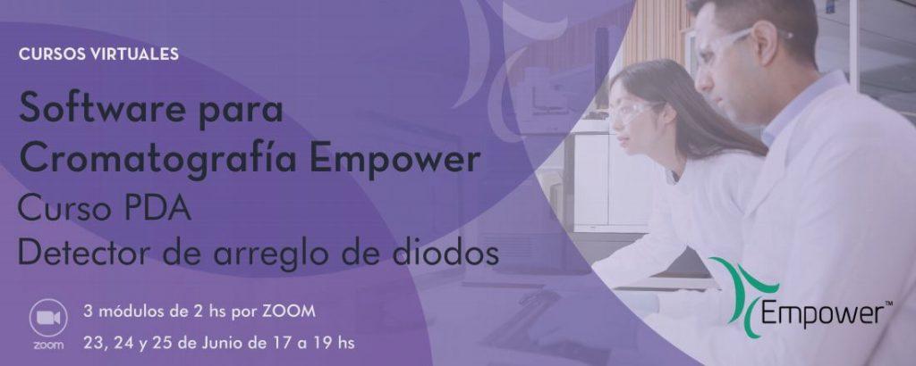 Curso Empower PDA (Detector de arreglo de diodos)